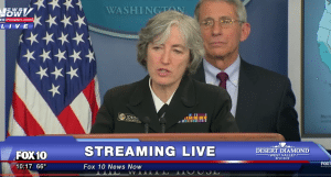 Dr. Anne Schuchat, principal deputy director of the CDC