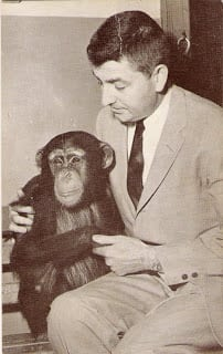Dr. Lester Fisher and friend