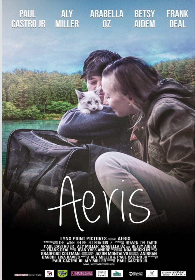 Pet expert Steve Dale and Paul Cstro Jr. about Aeris a movie about a kitten with FIP