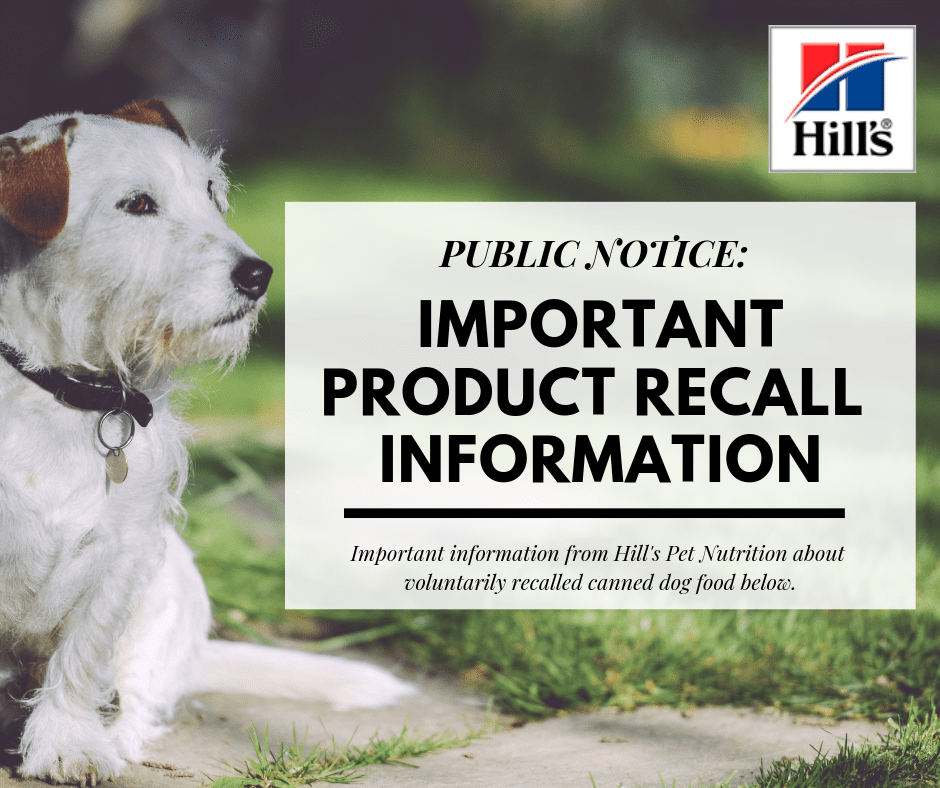 Hill's Pet Food Expanded Recall Is Explained Here Fromt He